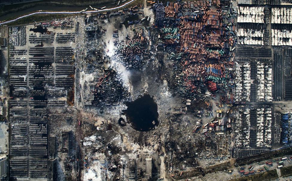 Hír kategória 3. hely Az év legnagyobb ipari balesetének helyszínek Kínában