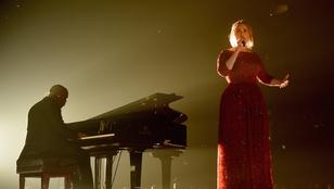 Végigsírta Adele a Grammy másnapját