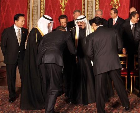 Obama és az iszlám világ - a meghajlásból botrány lett