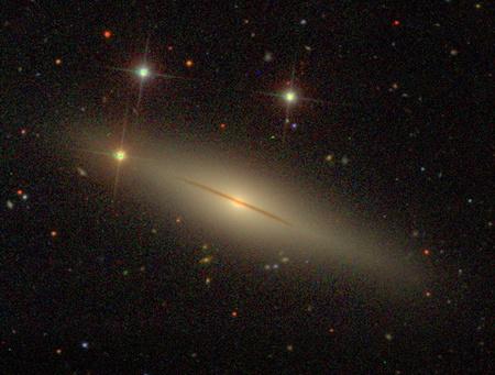 Új típusú szupernóvát sikerült-e felfedezni az NGC 1032 galaxisban? (SDSS)