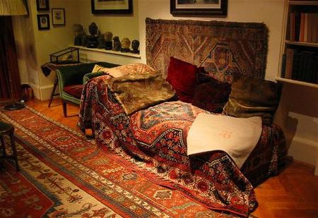 Freud díványa és dolgozószobája