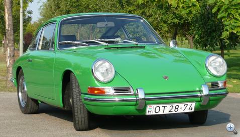 """Ezt a formát még Ferdinand """"Butzi"""" Porsche rajzolta 1959-ben"""