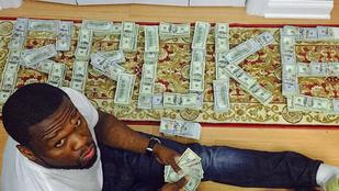Bíróságon magyarázkodhat Instagramja miatt 50 Cent