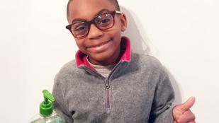 Egy 7 éves kisfiú oldotta meg az iskola problémáját
