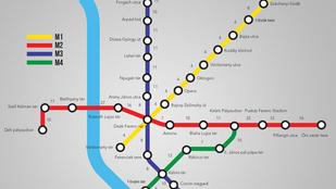 Tudja, mennyi idő lenne lesétálni a hármas metró vonalát?
