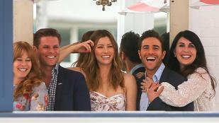 Jessica Bielnek jó oka van rá, hogy ennyire mosolyogjon