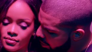 Rihanna és Drake új videójának készült melltartómentes változata is
