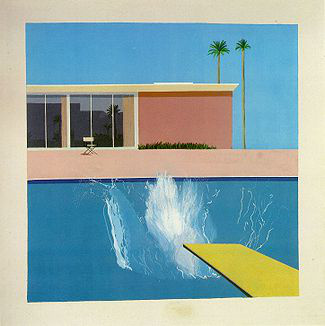 A Bigger Splash (1967), Tate Collection, London