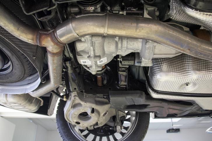 A Mustang hátsó futóműve hasznos kellék minden családi Fordnál