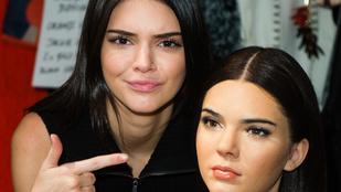 Kendall Jenner viaszszobra ijesztően élethűre sikerült