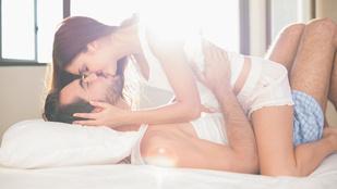 Végignevettük a napot, le is feküdtünk egymással
