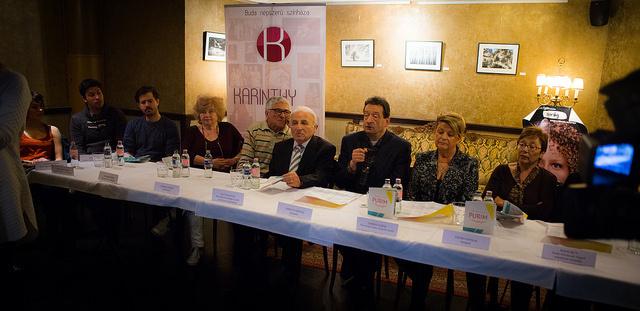 A Purim Fesztivál sajtótájékoztatója a Hadikban