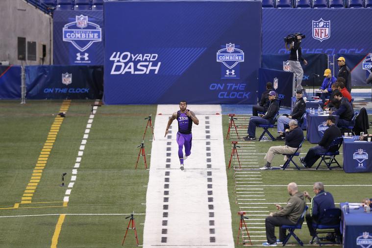 Dean Marlowe ad bele mindent a 40 yardos sprintbe