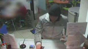 Itt a videó az oktogoni bankrablásról