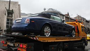 És ön tudja, kié, és hova viszik ezt a Rolls-Royce-t?