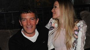 Antonio Banderas látványosan imádja a nőjét