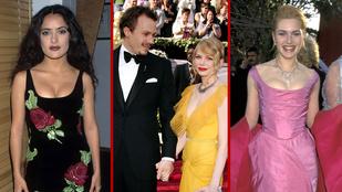 Hihetetlen fotók a 20 és 10 évvel ezelőtti Oscarról