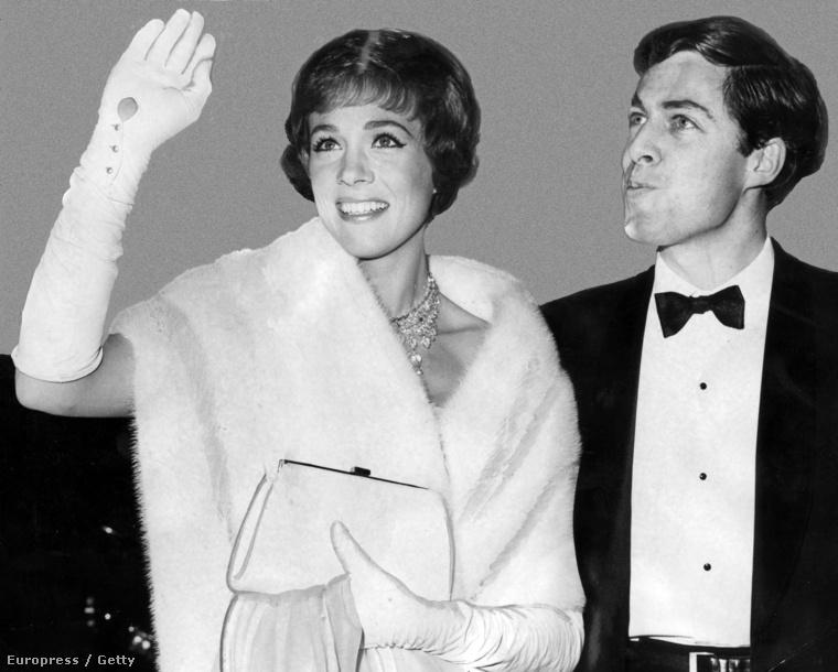 1965 – Julie Andrews a férjével, Tony Waltonnal