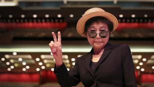 Yoko Ono kiszáradásos tünetek miatt került kórházba