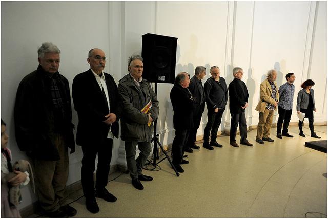 Frissen - Egyenesen a Műteremből, kiállításmegnyitó