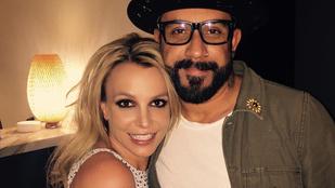 Fontos kép: Britney Spears és az 1/5 Backstreet Boys