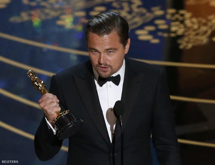 Leonardo Dicaprio a legjobb férfi színész