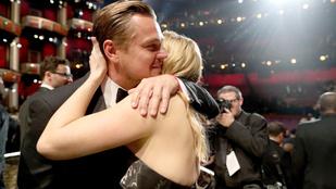 Hát persze, hogy Winslet ott volt, amikor DiCaprio nyert!