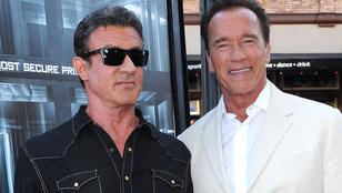 Schwarzenegger videón üzent az Oscart elbukó Stallonénak