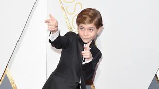 Az Oscar cukiságának díját kapja Jacob Tremblay