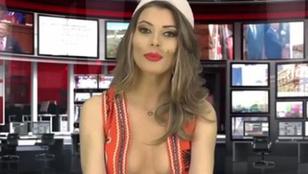 Megállíthatatlan az albán topless híradó