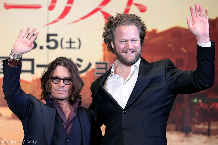 Johnny Depp és Florian Henckel von Donnersmarck