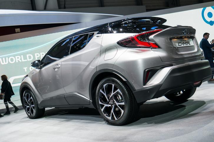 Toyota C-HR - Törökország első hibbridautója lesz, mivel ott fogják gyártani