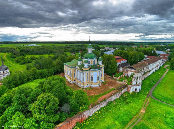 A Feodoszij által alapított kolostor Totymában