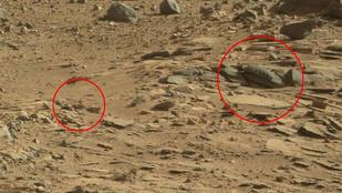 Feszülettel gyarapodott a Marson látott fura dolgok viszonylag széles köre