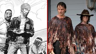 5 lényeges különbség a The Walking Dead tévésorozat és a képregény között