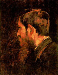 Munkácsy Mihály: Paál László portréja (1877)