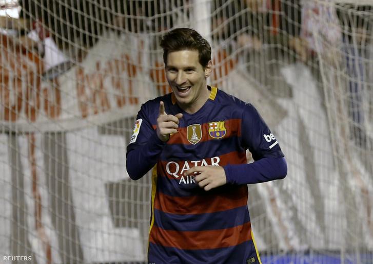 Messi a csütörtöki meccsen