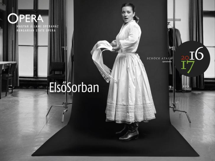 2) Schöck Atala (A háziasszony) - Kodály: Székelyfonó – Operaház, öltöző
