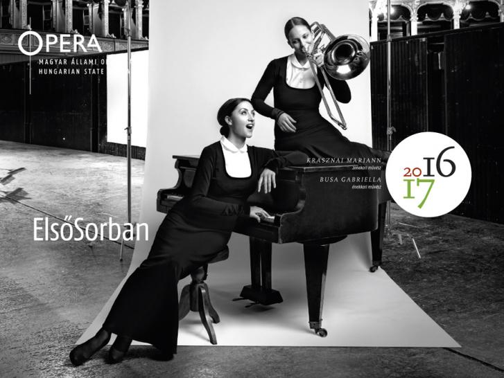 7) Busa Gabriella (ének, zongora), Krasznai Mariann (harsona) - Kórus és Zenekar – Operaház, zenekari árok)