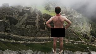 Ne nagyon pózolgasson meztelenül a Machu Picchunál