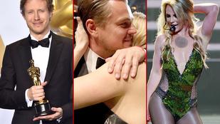 Oscart nyert a Saul és Dicaprio, Britney Spears meg újra formában van