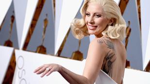 Lady Gaga a szexuális erőszakok áldozataira emlékeztető tetoválást csináltatott