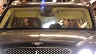 Beckhamék a kocsiban is szép család