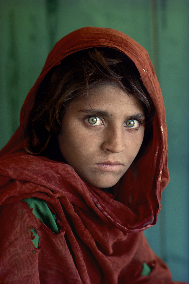 steve mccurry  afgrl-10001 print