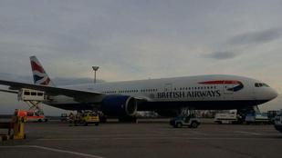Ferihegyen kellett kényszerleszállást végrehajtania a British Airways járatának