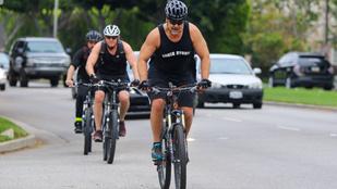 Russell Crowe is beszállt a bicikliző celebek táborába