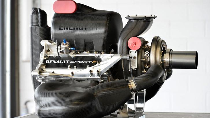 A Renault 2015-ös szezonban használt motorja