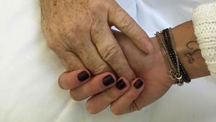 Nővér képezte ki Vajna Tímeát a férje ápolására