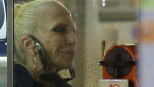 Donatella Versace feje már a szellemvasútra is túlzás