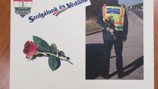 Na mit kaptak a nők a rendőröktől Csajágon ezen a szép napon?